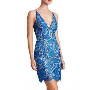 Dress The Population Lace Sleeveless Sheath Dress